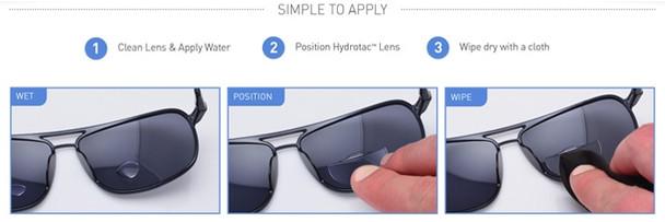 Optx 20/20 Hydrotac Stick On Bifocal Lenses Instructions