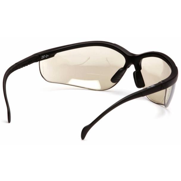 Pyramex V2 Reader Bifocal Safety Glasses with Indoor/Outdoor Lens - Back