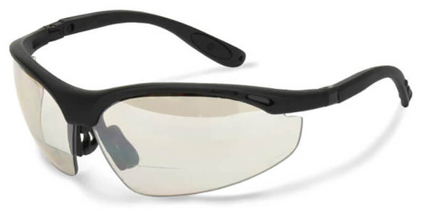 Radians Cheaters Bifocal Safety Glasses with Indoor/Outdoor Lens