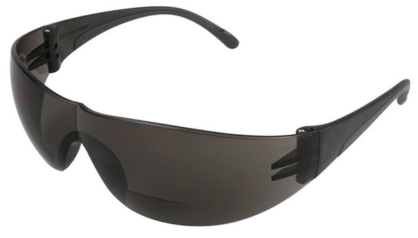 Bouton Zenon Z12R Bifocal Safety Glasses with Gray Lens