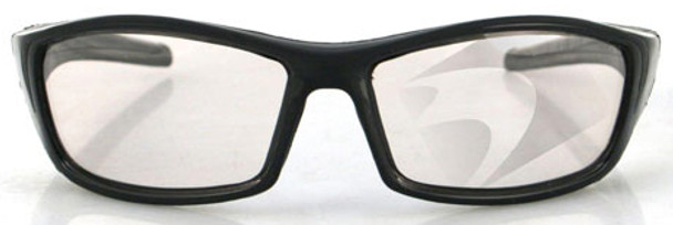 Bobster Hooligan Sunglasses with Black Frame and Photochromic Lens