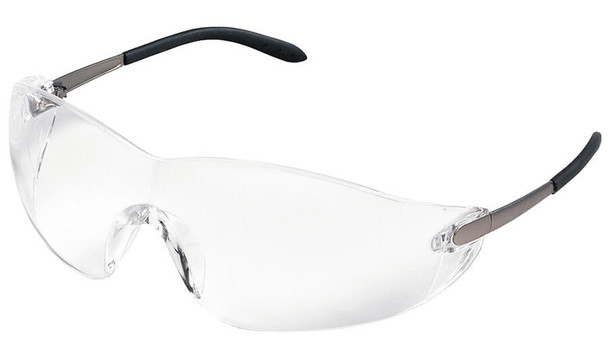 Crews Blackjack Safety Glasses with Clear Lens S2110