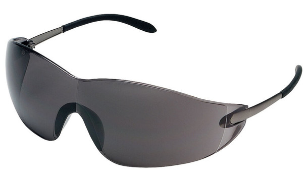 Crews Blackjack Safety Glasses with Gray Lens S2112