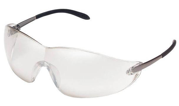 Crews Blackjack Safety Glasses with Indoor/Outdoor Lens S2119