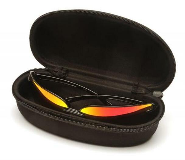 Pyramex Hard Sunglasses Case, Black