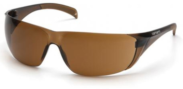 Carhartt Billings Safety Glasses with Sandstone Bronze Lens CH118S