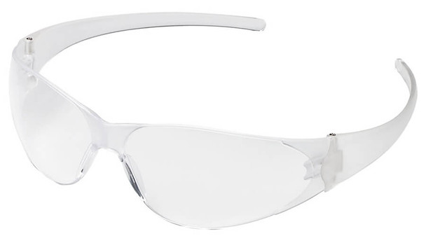 Crews CK1 Safety Glasses with Clear Anti-Fog Lens