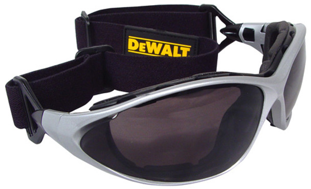DeWalt Framework Interchangeable Safety Goggles with Smoke Lens