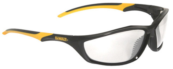 DeWalt Router Safety Glasses with Black Frame and Clear Lenses
