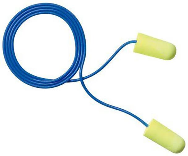 EAR Yellow Neons Corded Earplugs NRR-33