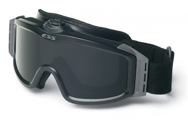 ESS Profile TurboFan Goggle Black with Clear and Gray Lenses 740-0131
