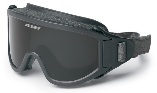 ESS Flight Deck Goggles with Clear and Smoke Gray Lenses 740-0333