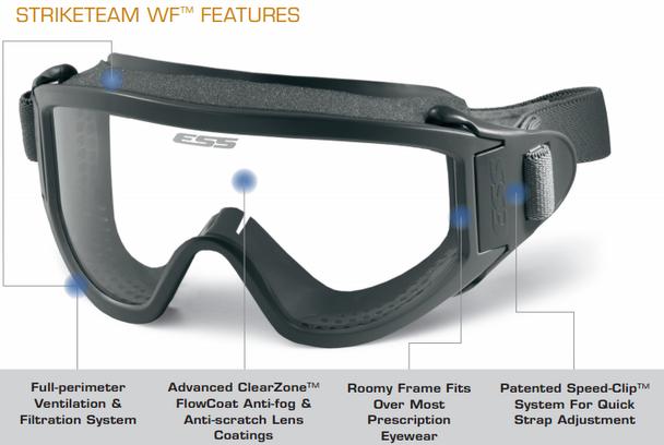 ESS Striketeam WF Goggles