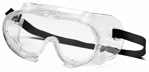 Pyramex G204T Indirect Vent Goggle with Clear Anti-Fog Lens G204T