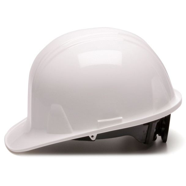 Pyramex Cap Style Hard Hat with 4-Point Ratchet Suspension Side