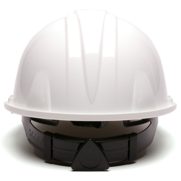 Pyramex Cap Style Hard Hat with 4-Point Ratchet Suspension Back
