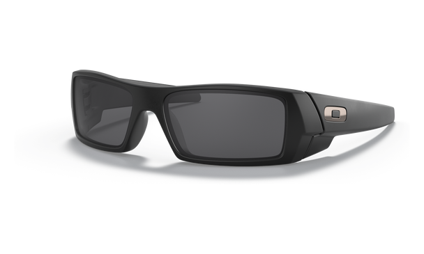 Oakley Gascan Sunglasses with Matte Black Frame and Grey Lens 03-473