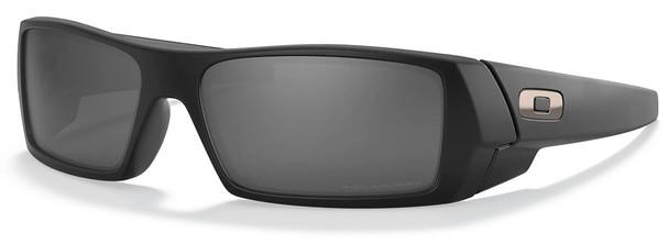 Oakley Gascan Sunglasses with Matte Black Frame and Black Iridium Polarized Lens 12-856