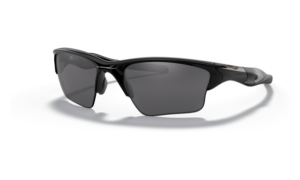 Oakley Half Jacket 2.0 XL Sunglasses with Polished Black Frame and Black Iridium Lenses OO9154-01