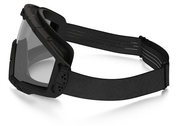 Oakley SI Ballistic Goggle 2.0 with Black Frame and Clear Lens - Side