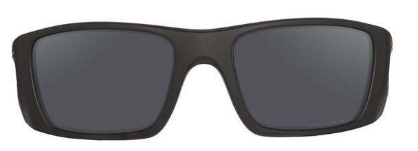 Oakley SI Cerakote Fuel Cell with Graphite Black Frame and Black Iridium Polarized Lenses