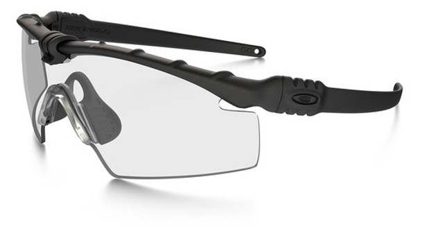 Oakley SI Ballistic M Frame 3.0 with Black Frame and Clear Lens