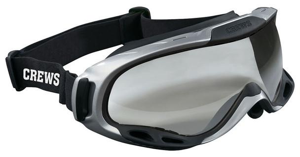 Crews PGX1 Safety Goggle with Elastic Strap and Clear Anti-Fog Lens PGX110AF