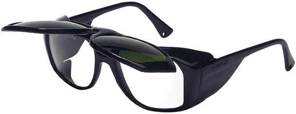 Uvex Horizon Safety Glasses with Shade 3 Flip-Up Lens S212