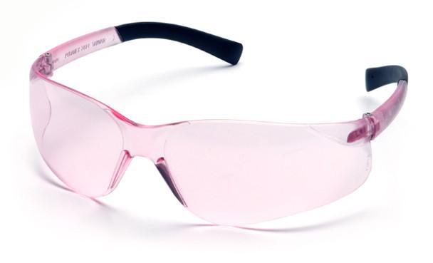 Pyramex Mini Ztek Safety Glasses with Pink Lens S2517SN