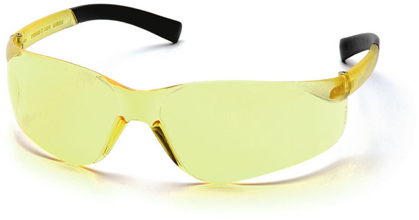 Pyramex Mini Ztek Safety Glasses with Amber Lens