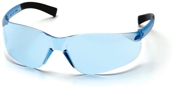 Pyramex Mini Ztek Safety Glasses with Infinity Blue Lens