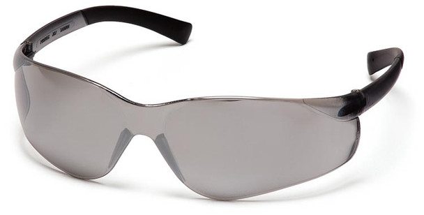 Pyramex Ztek Safety Glasses with Silver Mirror Lens