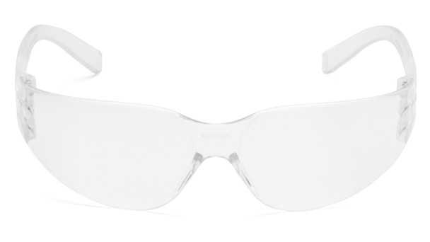 Pyramex Intruder Safety Glasses with Clear Lens Front View