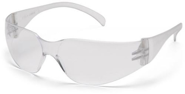 Pyramex Intruder Safety Glasses with Clear Anti-Fog Lens S4110ST