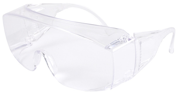 Pyramex Solo Jumbo Safety Glasses with Clear Lens S510SJ