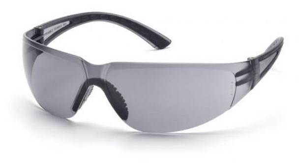 Pyramex Cortez Safety Glasses Black Temples Gray Lens SB3620