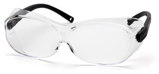 Pyramex OTS XL Over-Prescription Safety Glasses with Large Clear Lens S7510SJ