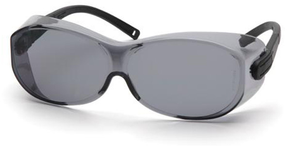 Pyramex OTS XL S7520SJ Over-Prescription Safety Glasses with Large Gray Lens