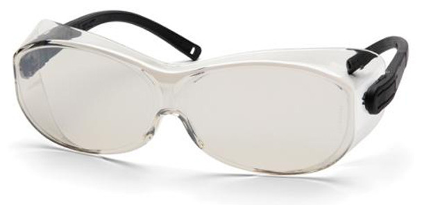 Pyramex OTS XL Over-Prescription Safety Glasses with Large Indoor/Outdoor Lens S7580SJ