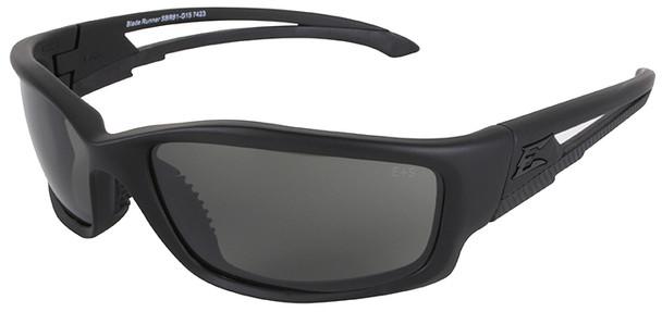Edge Tactical Eyewear Blade Runner XL Safety Glasses Black Frame G-15 Vapor Shield Lens