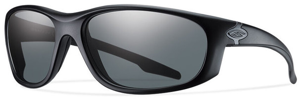 Smith Elite Chamber Tactical Ballistic Sunglasses with Black Frame and Polarized Gray Lens
