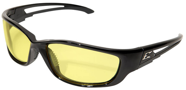 Edge Kazbek XL Safety Glasses with Yellow Lens