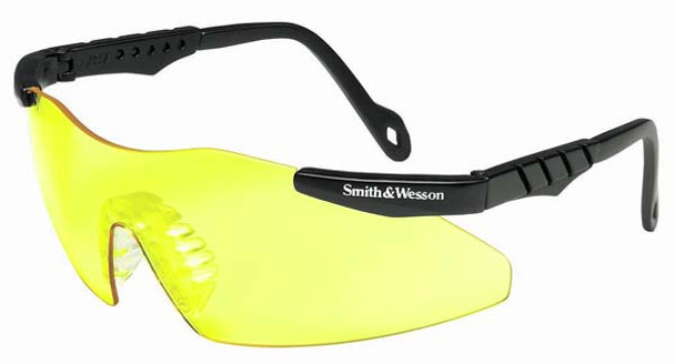Smith & Wesson Mini Magnum Safety Glasses with Yellow Lens 19828