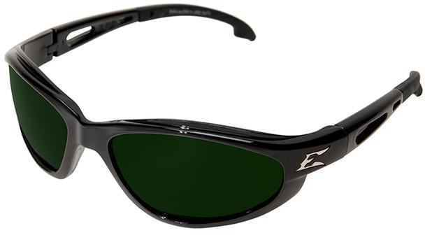 Edge Dakura Safety Glasses with Black Frame and Shade 5 Lens