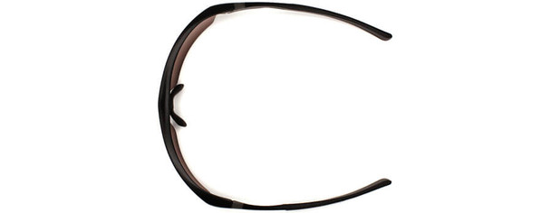 Venture Gear Tensaw Safety Glasses with Black Frame and Clear Anti-Fog Lens - Top