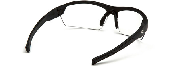 Venture Gear Tensaw Safety Glasses with Black Frame and Clear Anti-Fog Lens - Back