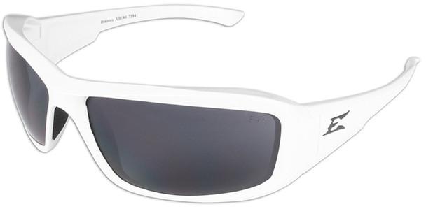 Edge Brazeau Designer Series with White Frame and Smoke Lens