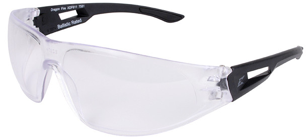 Edge Dragon Fire Tactical Safety Glasses with Clear Lens