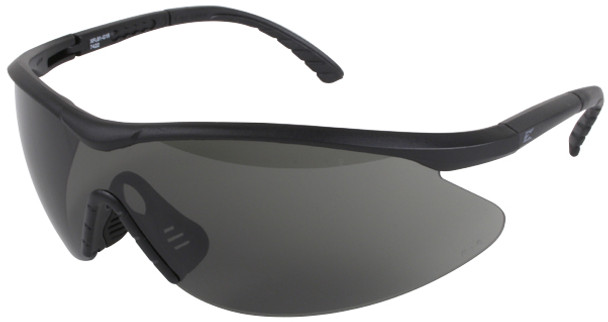 Edge Fast Link Tactical Safety Glasses with Black Frame and G-15 Lens