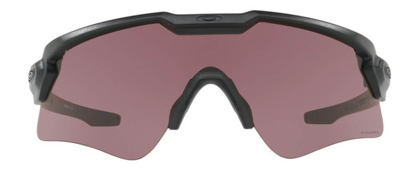 Oakley SI Ballistic M Frame Alpha Sunglasses with Matte Black Frame and Prizm TR22 Lens - Front